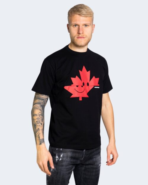 T-shirt Dsquared2 LOGO SMILE Nero – 69306