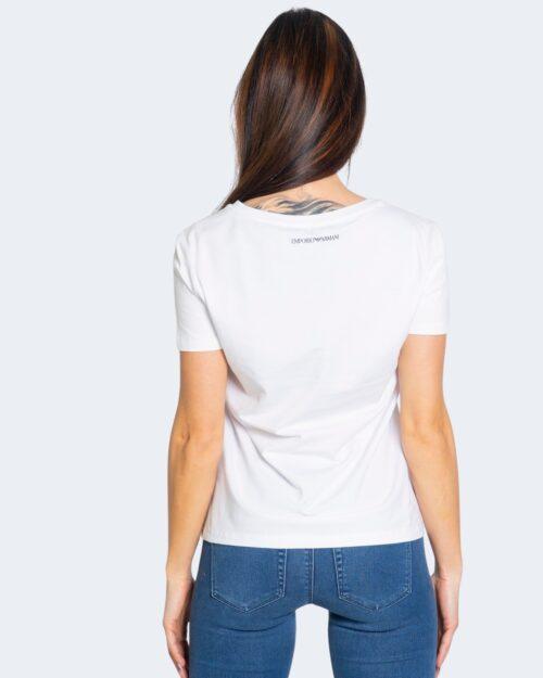 T-shirt Emporio Armani LOGO STILIZZATO Bianco – 68899