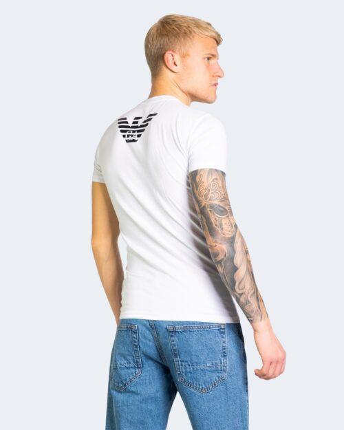 T-shirt Emporio Armani 2 PACK SLIM FIT MICRO Bianco – 68039