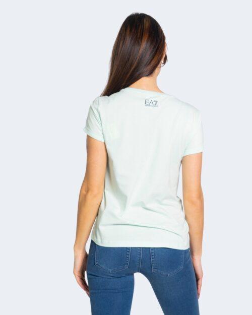 T-shirt Ea7 LOGO Verde – 68912