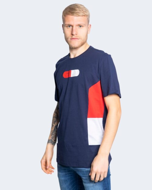 T-shirt Fila JALEN blocked tee 683262 Blu – 65225