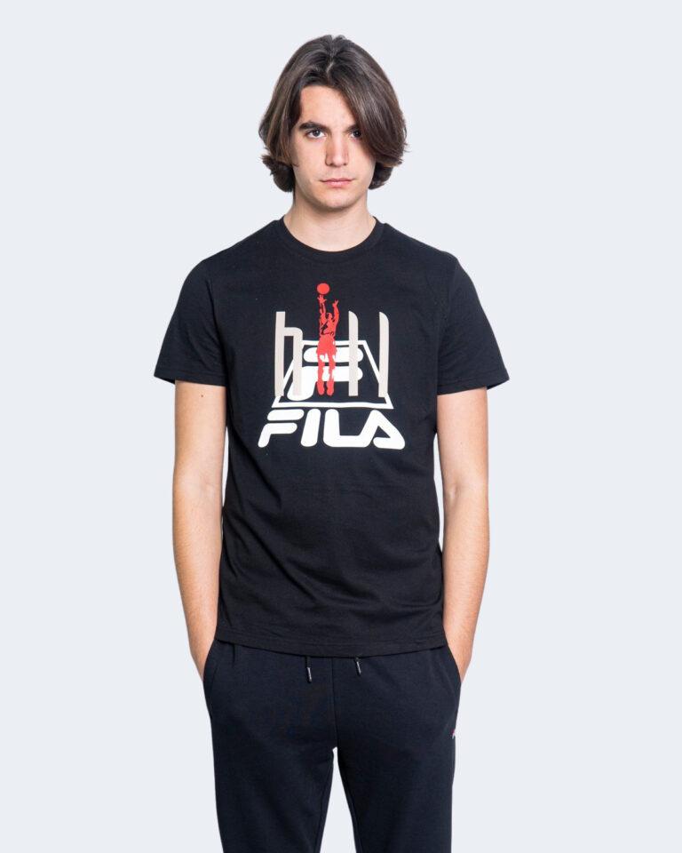 T-shirt Fila FICO Nero - Foto 1