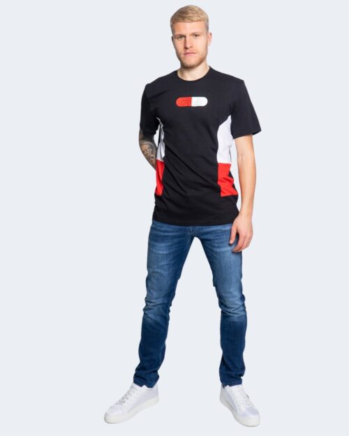 T-shirt Fila JALEN blocked tee 683262 Nero – 65225