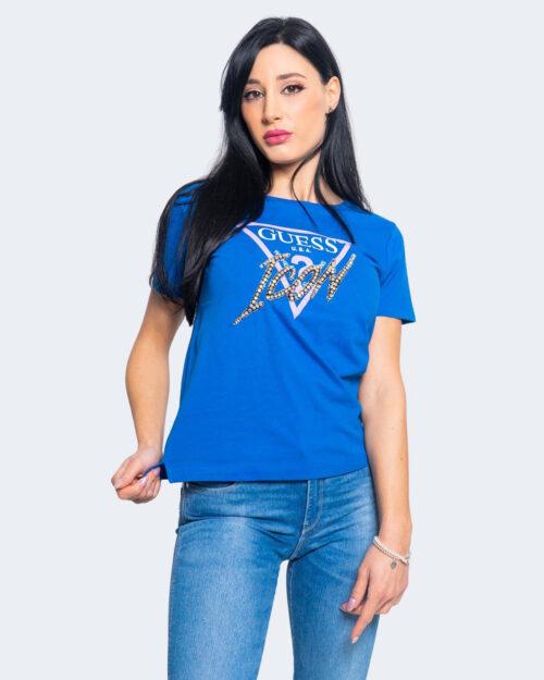 T-shirt Guess ICON Azzurro – 64156