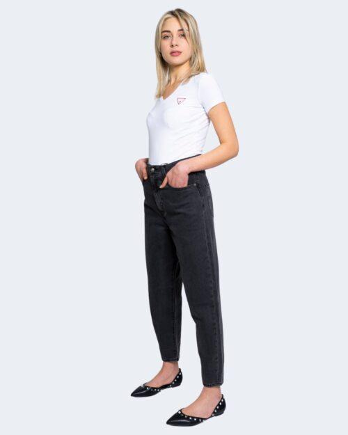 T-shirt Guess MINI TRIANGLE Bianco – 64160