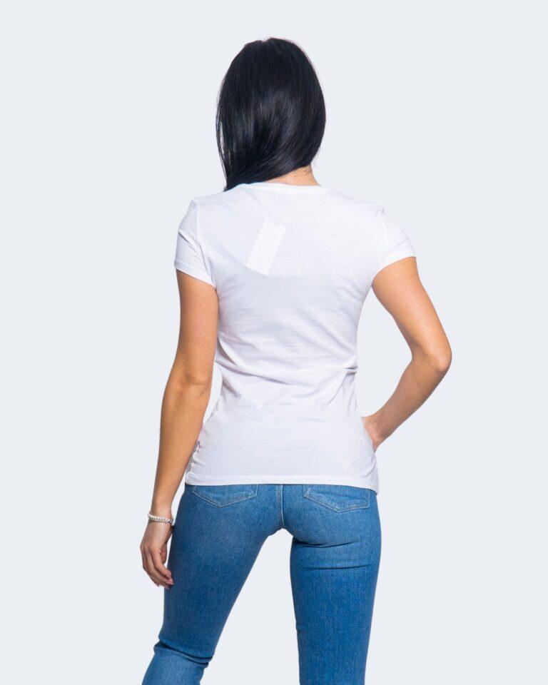 T-shirt Guess MARTINA Bianco - Foto 3