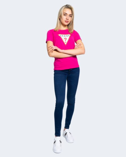 T-shirt Guess ORIGINAL Fuxia – 64166