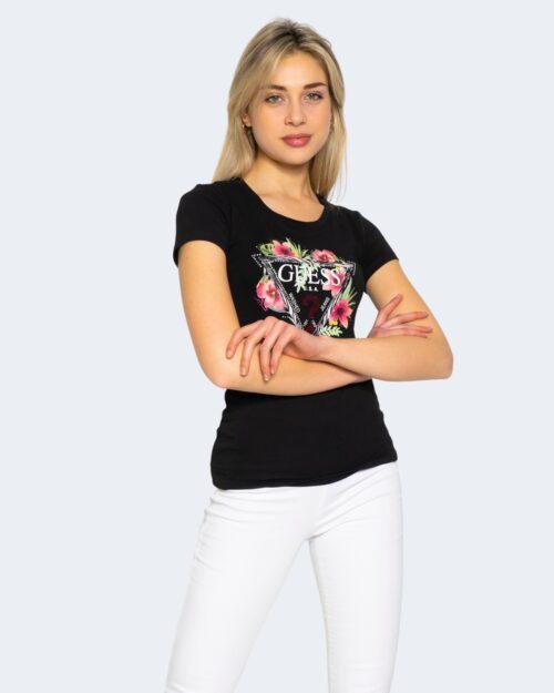 T-shirt Guess REBECCA Nero - Foto 1