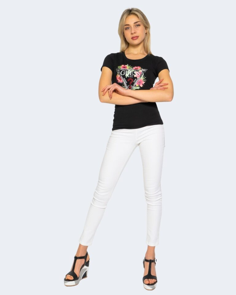 T-shirt Guess REBECCA Nero - Foto 2