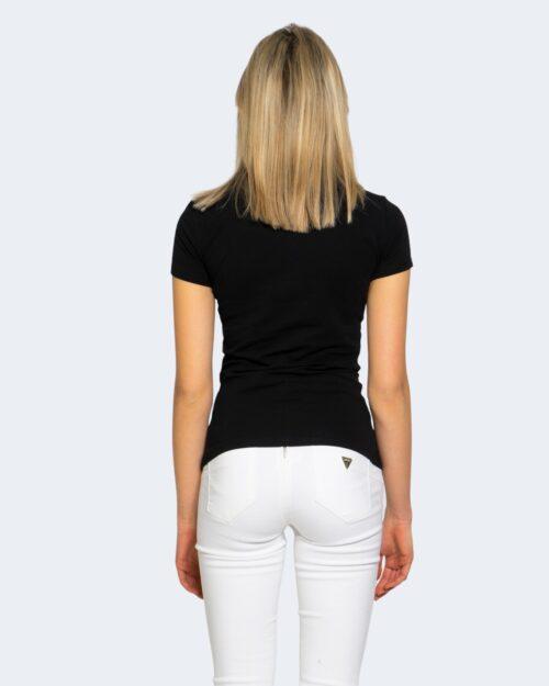 T-shirt Guess REBECCA Nero - Foto 3