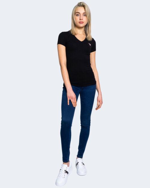 T-shirt Guess MINI TRIANGLE Nero – 64160