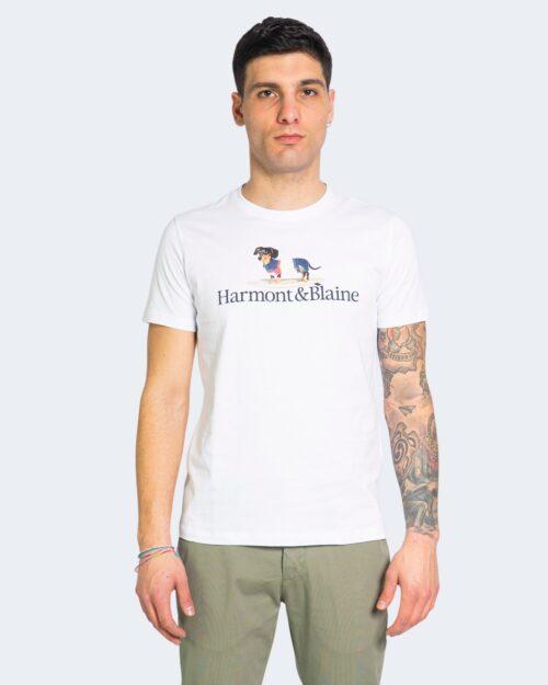 T-shirt Harmont&blaine BLAINE Bianco – 67561
