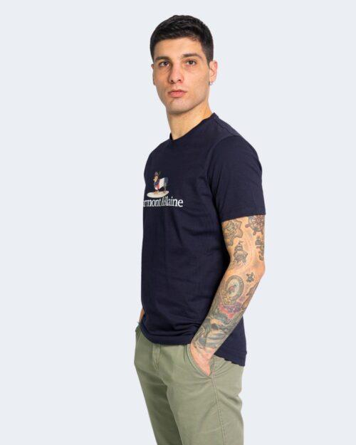 T-shirt Harmont&blaine BLAINE Blue scuro – 67561