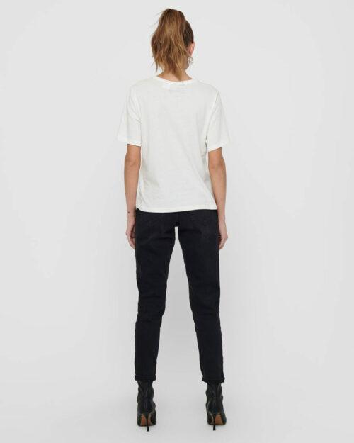 T-shirt Jacqueline de Yong NINA Panna - Foto 4
