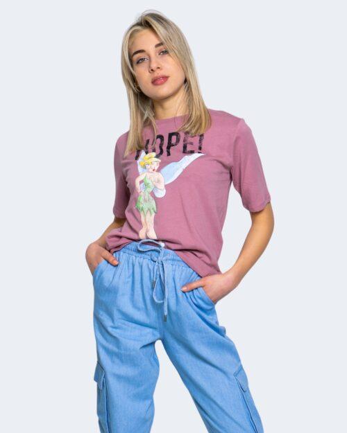 T-shirt Jacqueline de Yong DARLINGTON Rosa - Foto 1