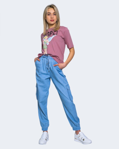 T-shirt Jacqueline de Yong DARLINGTON Rosa - Foto 2
