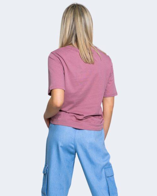 T-shirt Jacqueline de Yong DARLINGTON Rosa - Foto 3