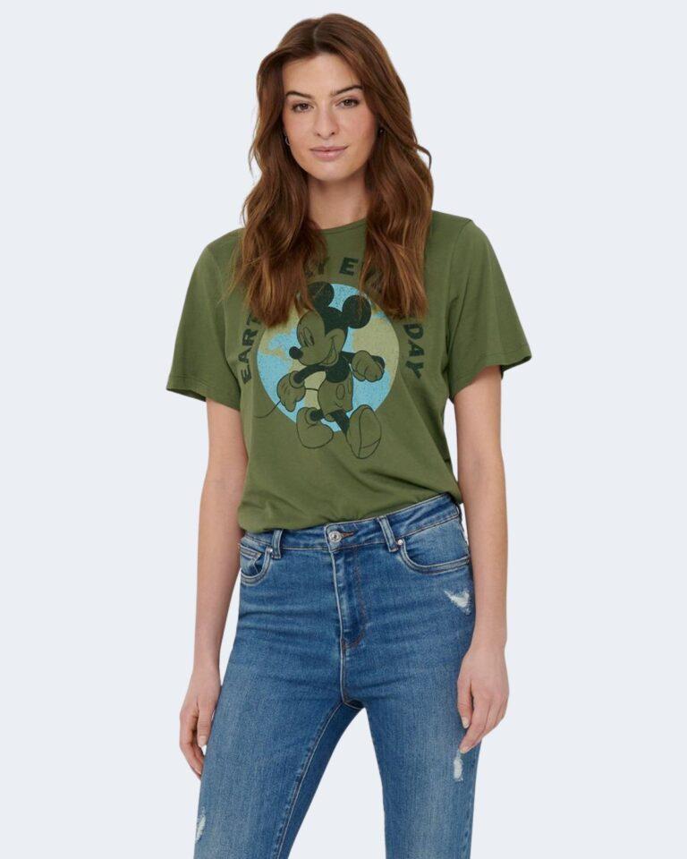 T-shirt Jacqueline de Yong NINA Verde Oliva - Foto 1