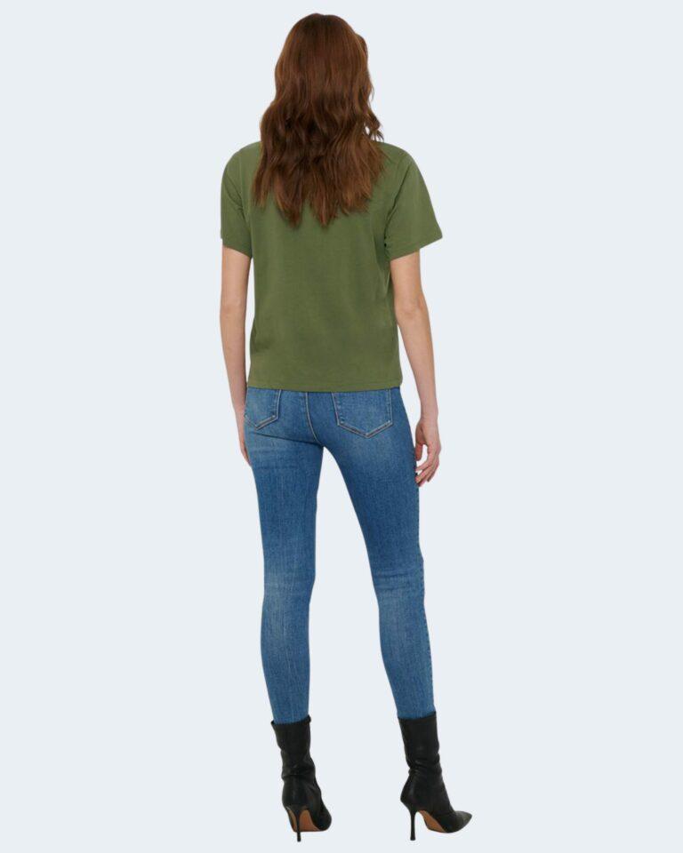 T-shirt Jacqueline de Yong NINA Verde Oliva - Foto 4