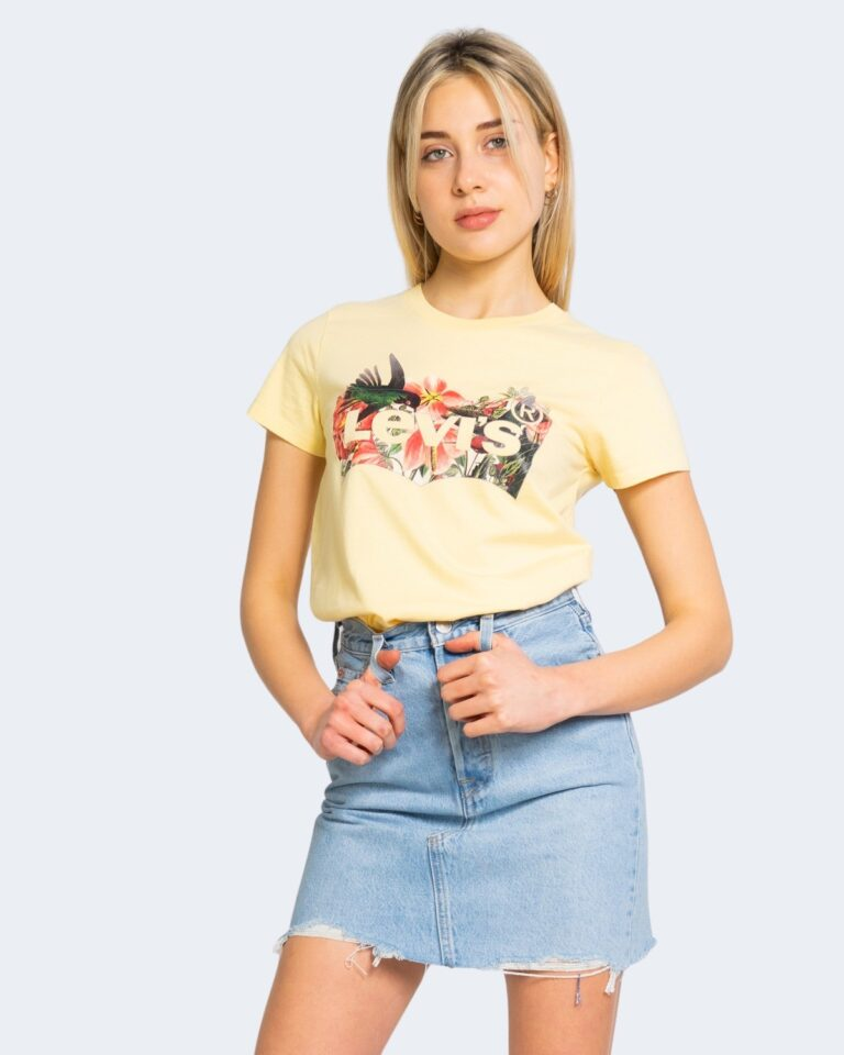 T-shirt Levi's® THE PERFECT TEE Giallo - Foto 1