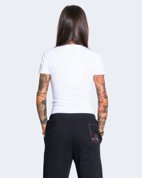 T-shirt Love Moschino LOGO CORE Bianco – 66979