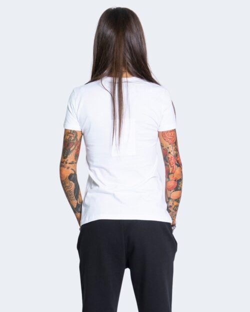 T-shirt Love Moschino SPLASH Bianco - Foto 3