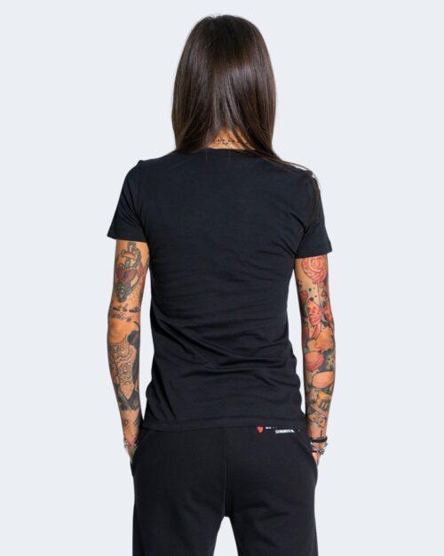 T-shirt Love Moschino SPLASH Nero - Foto 3