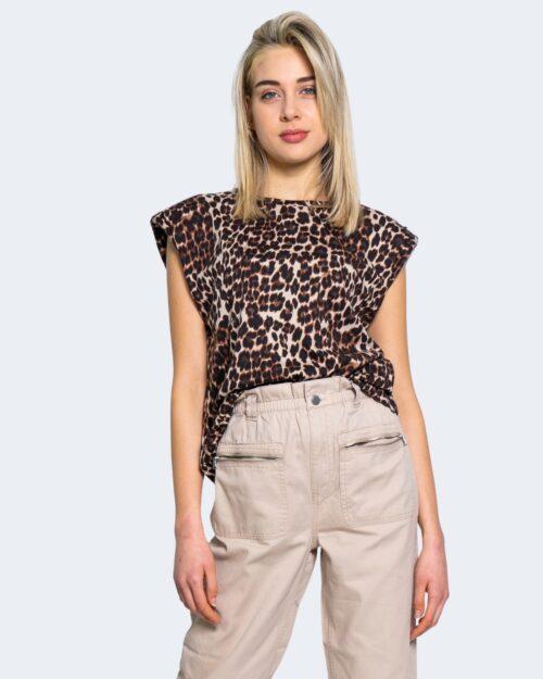 T-shirt Only PERNILLE SHOULDER Beige – 63383
