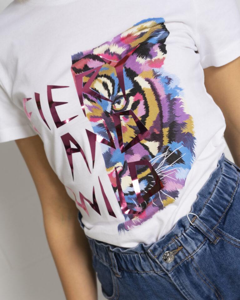 T-shirt Only FAYE Bianco - Foto 2