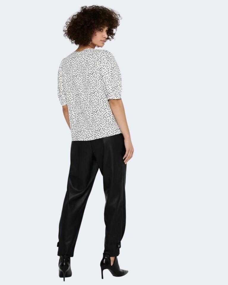 T-shirt Only KARMA Bianco - Foto 2