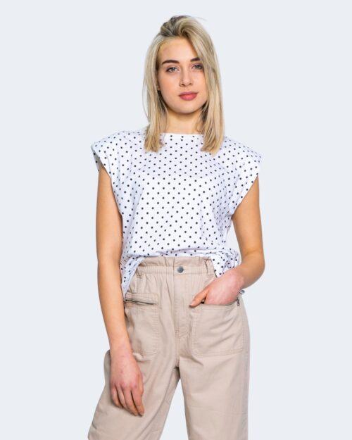 T-shirt Only PERNILLE SHOULDER Bianco - Foto 1