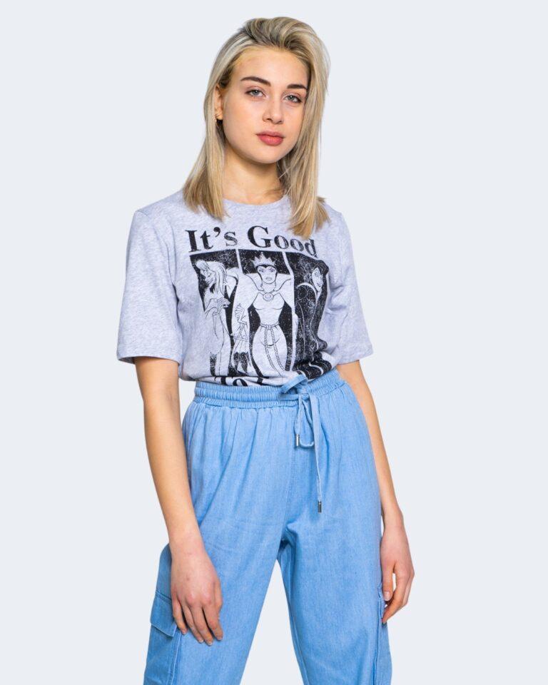 T-shirt Jacqueline de Yong DARLINGTON Grigio Chiaro - Foto 1