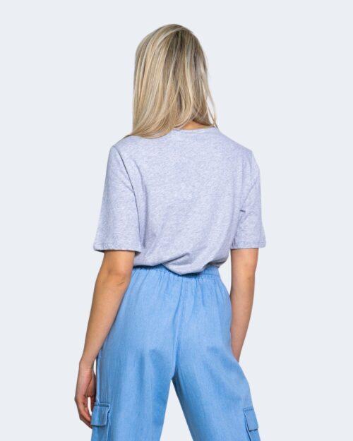 T-shirt Jacqueline de Yong DARLINGTON Grigio Chiaro - Foto 3
