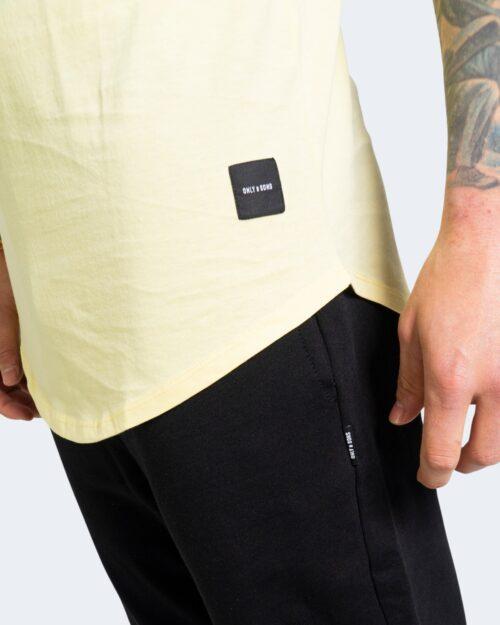 T-shirt Only & Sons MATT Giallo – 63397