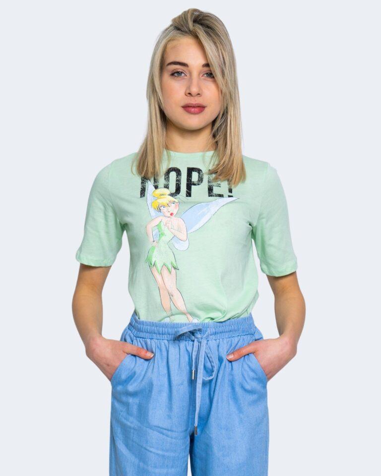 T-shirt Jacqueline de Yong DARLINGTON Verde - Foto 1