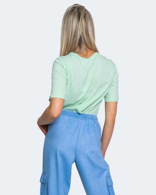 T-shirt Jacqueline de Yong DARLINGTON Verde - Foto 2