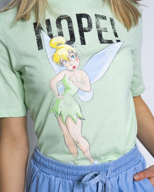 T-shirt Jacqueline de Yong DARLINGTON Verde - Foto 3
