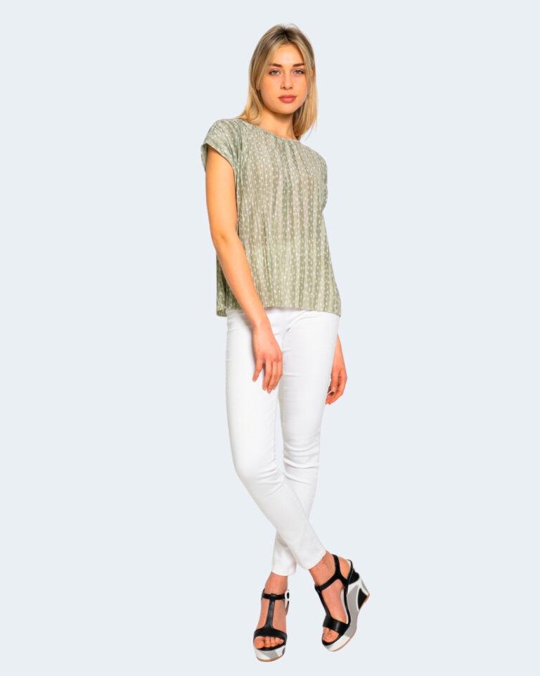 T-shirt Only ELEMA Verde - Foto 2