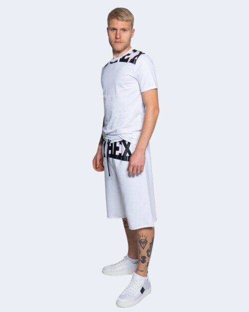 T-shirt Pyrex STAMPA LOGO COLLO Bianco – 64172