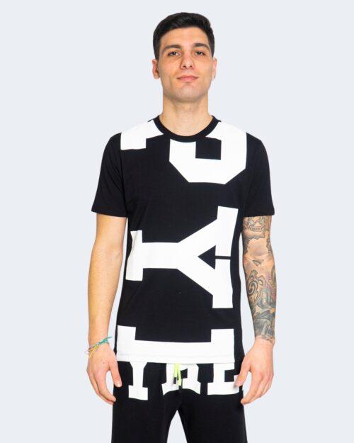 T-shirt Pyrex LOGO GRANDE Nero – 68014