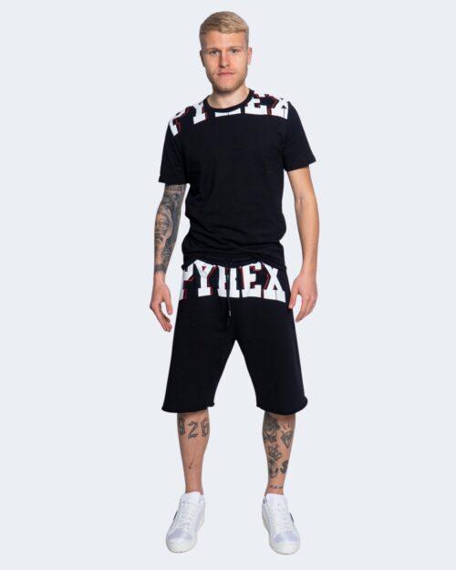 T-shirt Pyrex STAMPA LOGO COLLO Nero – 64172