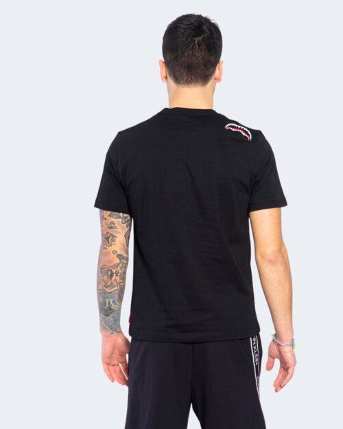 T-shirt Sprayground LOGO RED Nero - Foto 3