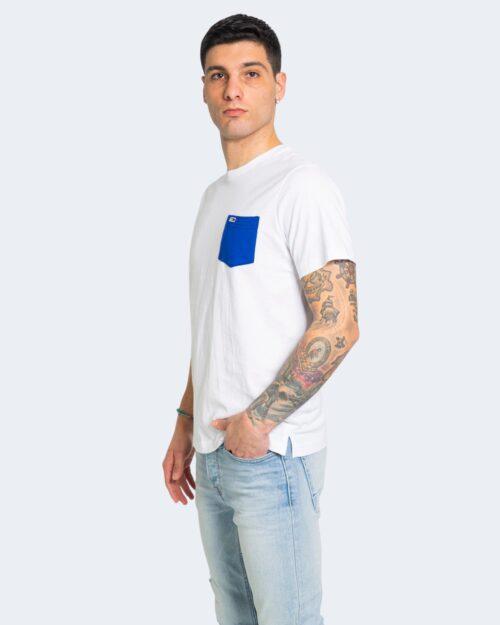T-shirt Tommy Hilfiger Jeans CONTRAST POCKET Bianco - Foto 1