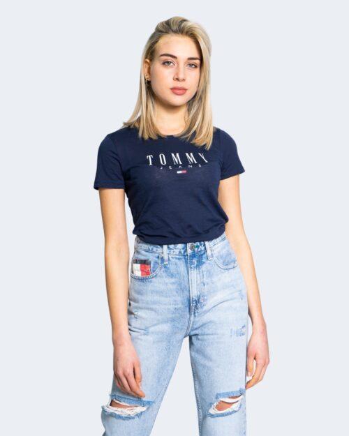 T-shirt Tommy Hilfiger Jeans ESSENTIAL SKINNY Blu - Foto 1