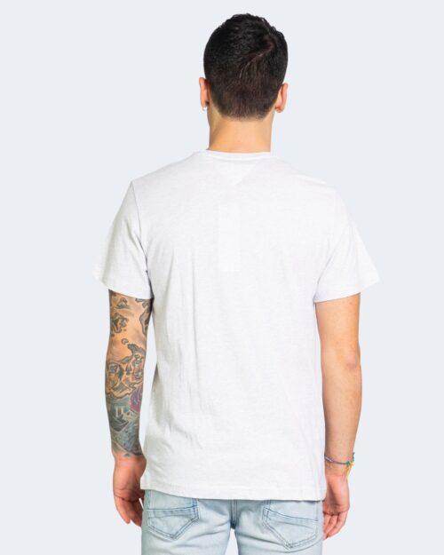 T-shirt Tommy Hilfiger Jeans LOGO Grigio - Foto 3