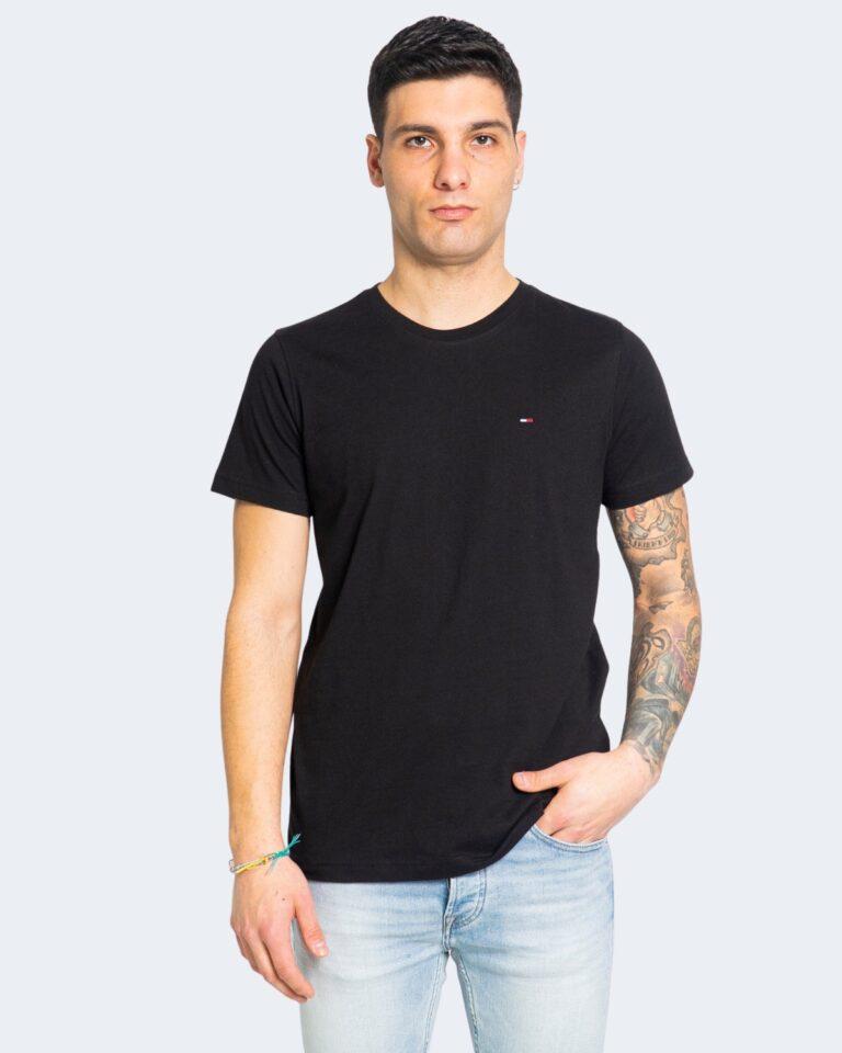 T-shirt Tommy Hilfiger Jeans 2PACK CNECK Nero - Foto 2