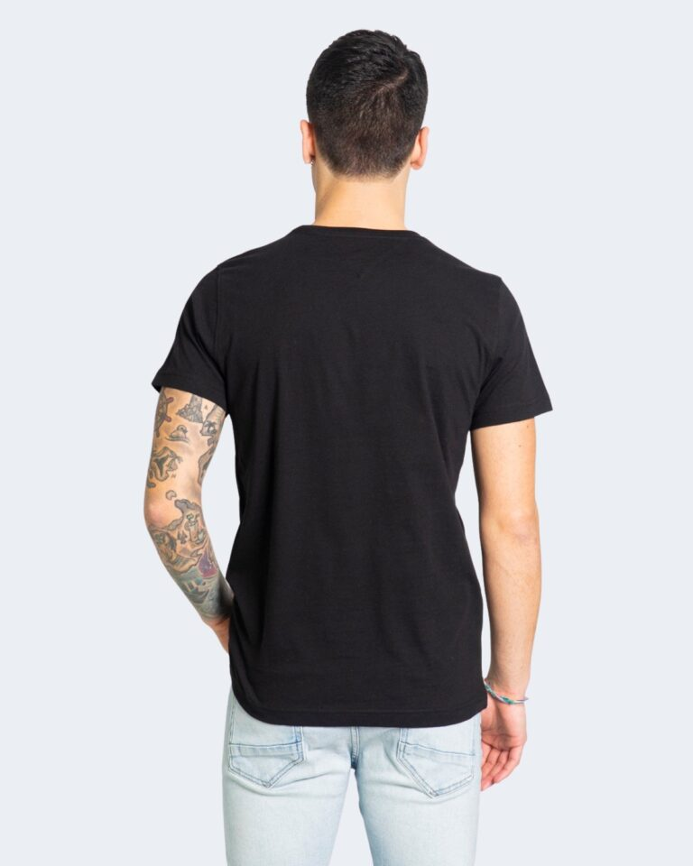 T-shirt Tommy Hilfiger Jeans 2PACK CNECK Nero - Foto 3