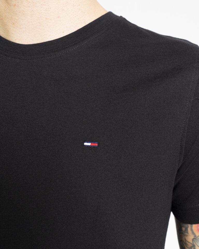 T-shirt Tommy Hilfiger Jeans 2PACK CNECK Nero - Foto 4