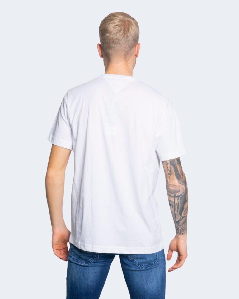 T-shirt Tommy Hilfiger Jeans LOGO Bianco - Foto 3