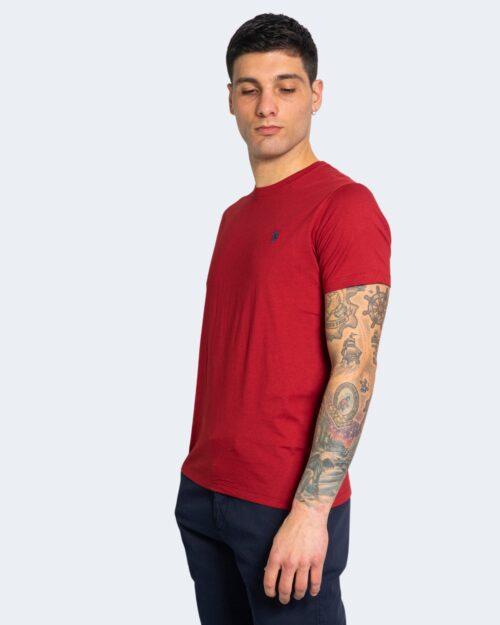 T-shirt U.s. Polo Assn. HORSE LOGO Bordeaux – 67803